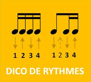 Dictionnaire de rythmiques pour guiatre