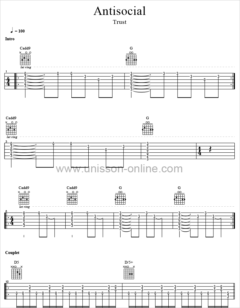 Antisocial-Trust-Tablature-Guitar-Pro