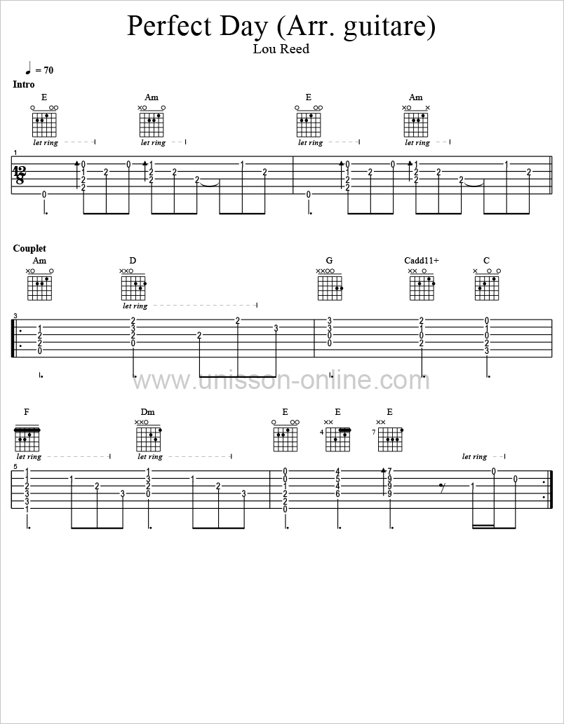 Perfect-day-Lou-Reed-Tablature-Guitar-Pro
