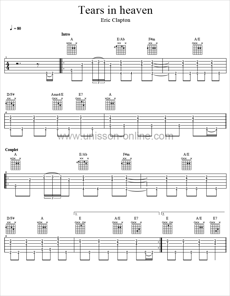 Tears-in-heaven-Eric-Clapton-Tablature-Guitar-Pro