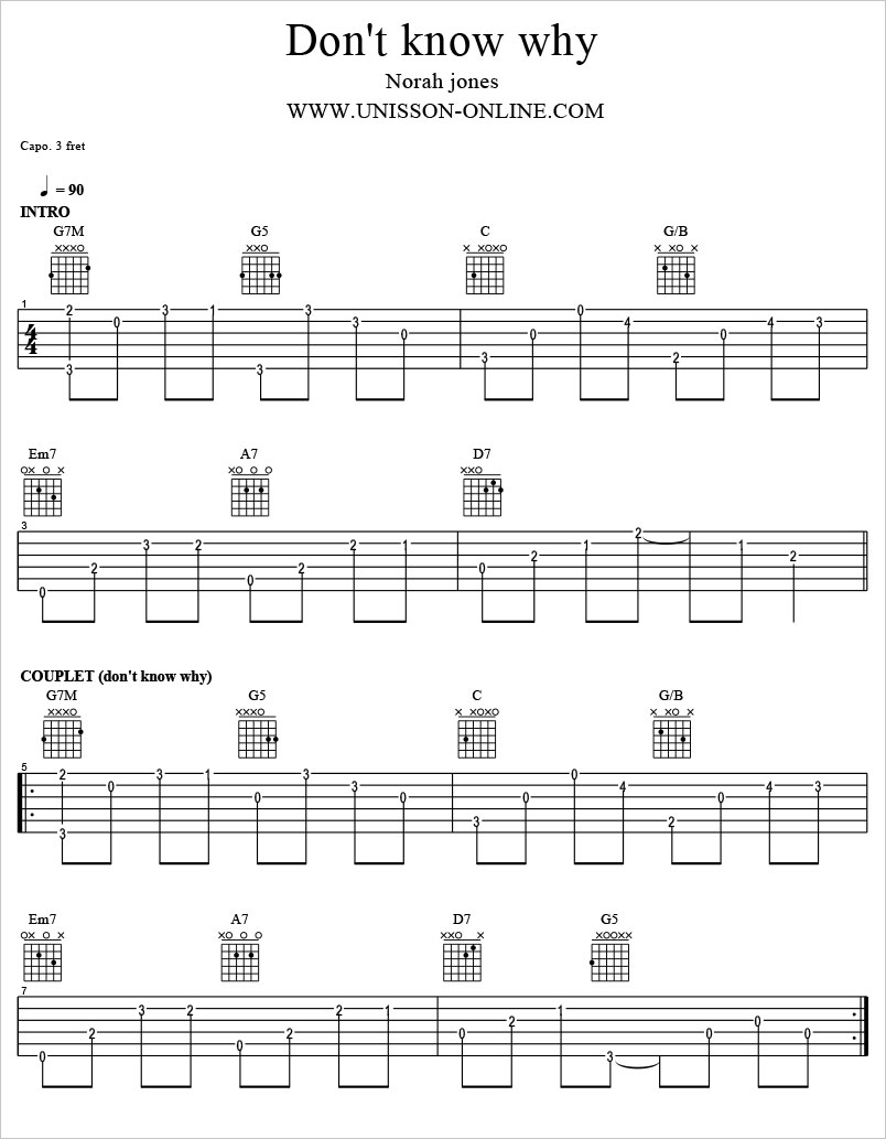 Dont-know-why-Norah-Jones-Tablature-Guitar-Pro