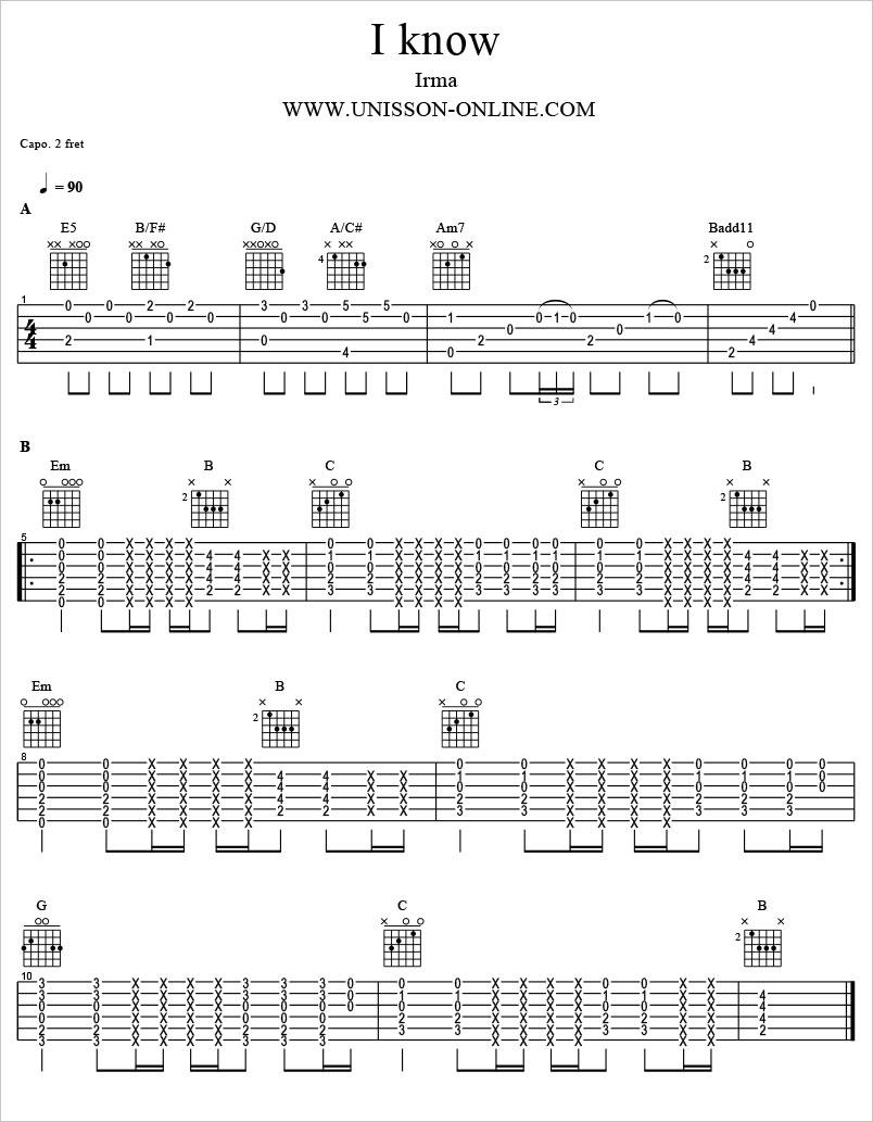 I-know-Iram-Tablature-Guitar-Pro
